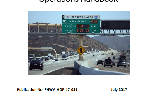 2017 Freeway Management and Operations Handbook